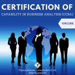 Certification of Capability in Business Analysis [CCBA] - Online