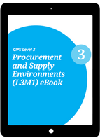 L3M1 Procurement and Supply Environments (CORE) Study Guide - eBook