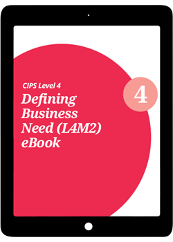 L4M2 Defining Business Need (CORE) - eBook