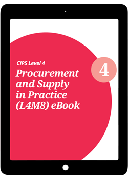 L4M8 Procurement and Supply in Practice (CORE) - eBook