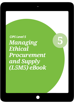 L5M5 Managing Ethical Procurement and Supply (CORE) - eBook