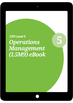 L5M9 Operations Management (ELECTIVE) - eBook