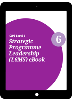 L6M5 Strategic Programme Leadership (ELECTIVE) - eBook