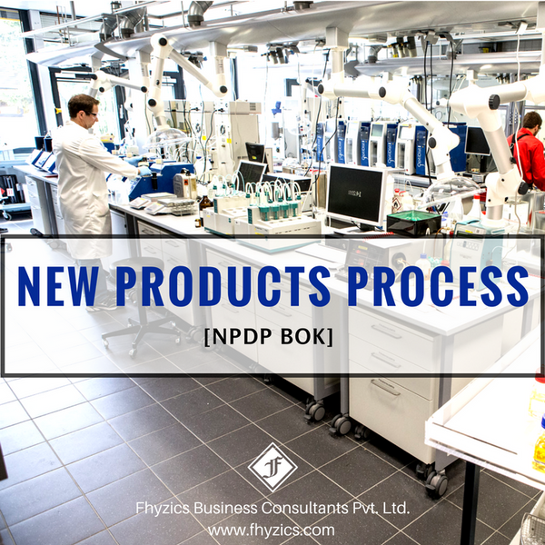 New Products Process (NPDP BOK)