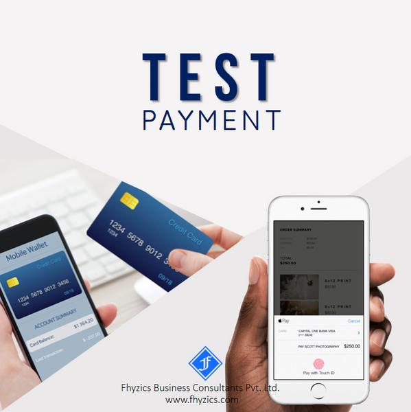 Test Payment - INR 1