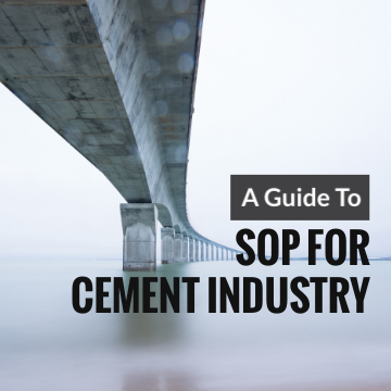 A Guide to Standard Operating Procedure for Cement Industry
