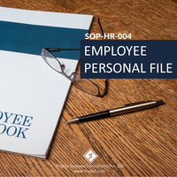 SOP-HR-004 : Employee Personal File