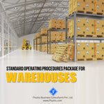 Standard Operating Procedures Package for Warehouses [SOP]