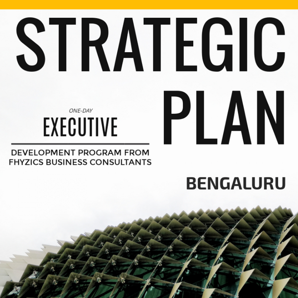 Crafting Strategic Business Plan - [Bengaluru]