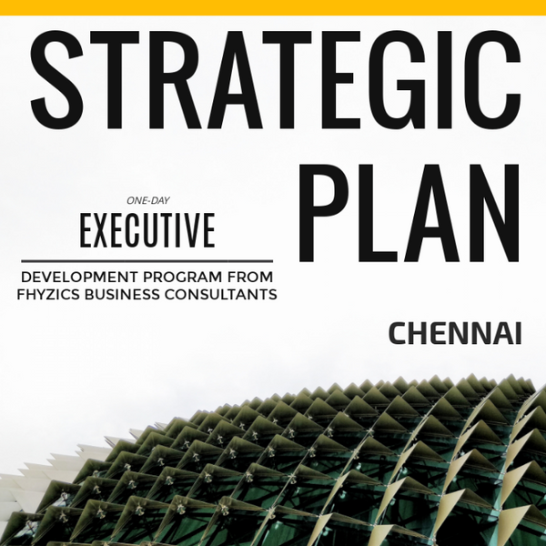 Crafting Strategic Business Plan - [Chennai]