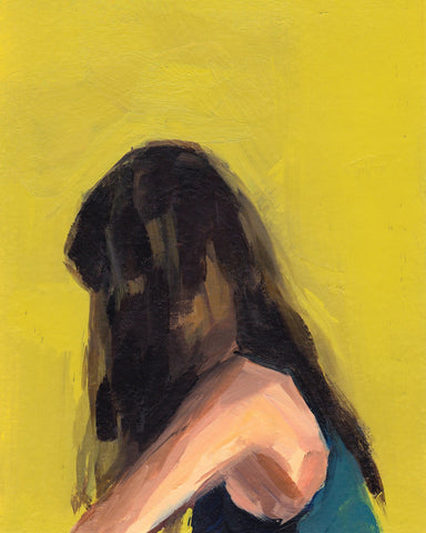 Portrait in Yellow