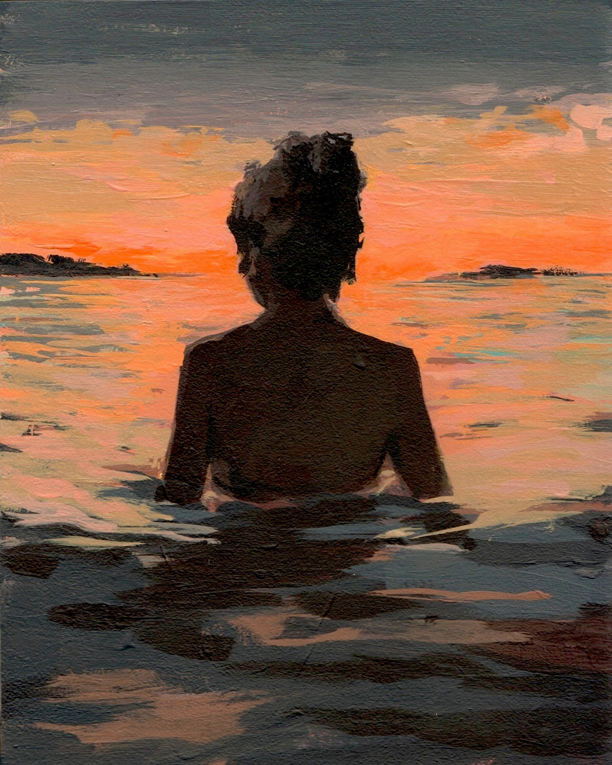 Summer Sunset 11 x 14