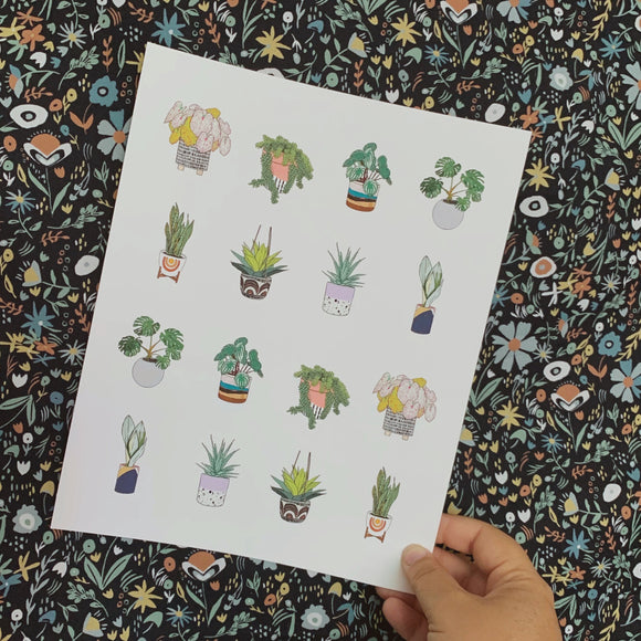 Houseplants Pattern