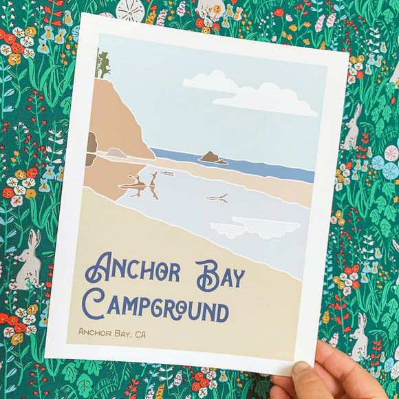 Anchor Bay Campground - Anchor Bay, CA