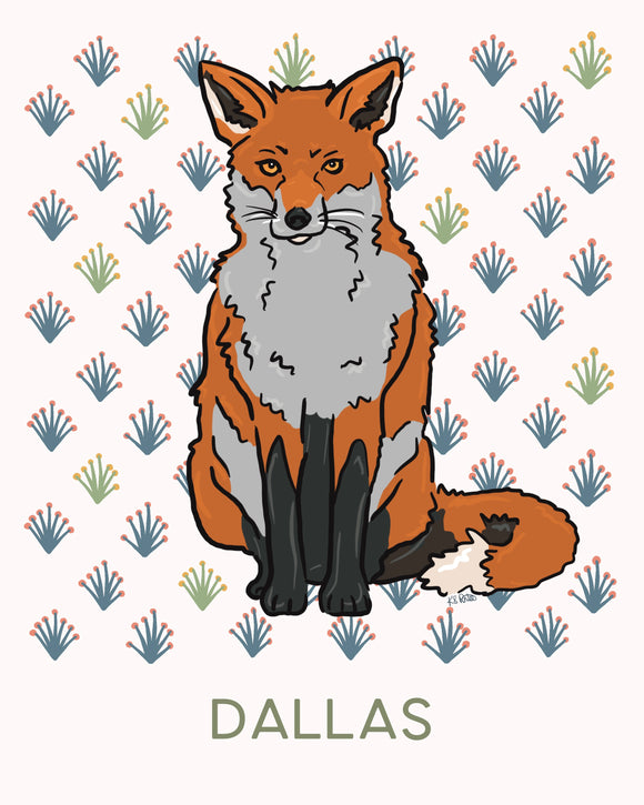 Cora the Red Fox - Personalized