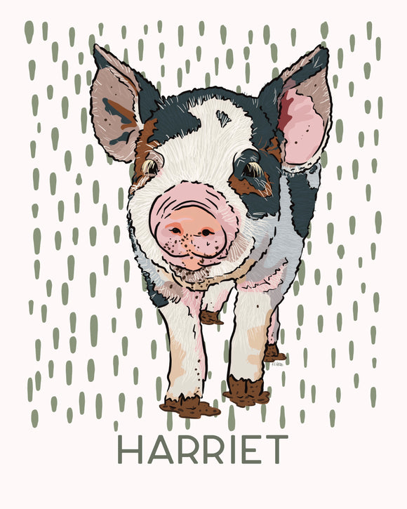 Matilda the Piglet - Personalized
