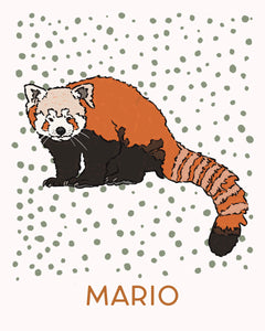 Ana the Red Panda - Personalized