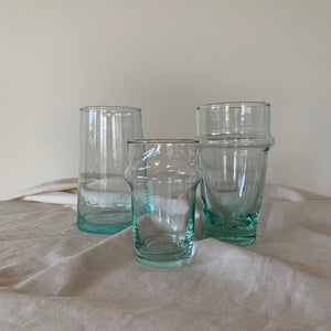 MOROCCO / Recycled glass / small / set of 2