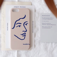 Load image into Gallery viewer, Drawing phone case - portrait
