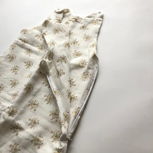 LEBOME / JENNY Summer sleeping bag / flower beige