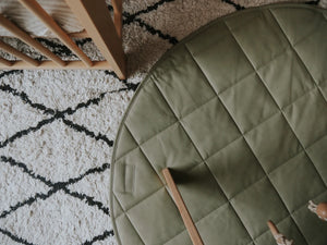 HENLEE / QUILTED PLAY Mat / SAGE