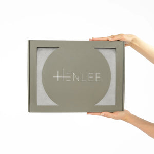 HENLEE / SQUARE NOMAD Mat / STONE