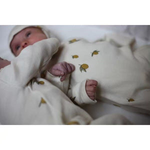 Konges Sloejd / New born onesie / lemon