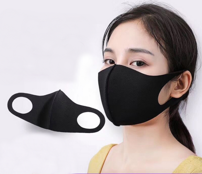 Washable & Reusable 3D Mask with 3D Cutout, 3D Mesh Filter Structure, Dustproof, Sun Protection & Cooling, for Adults and Kids