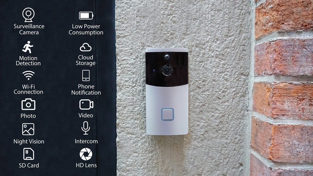 AZUZA: Secure Video Doorbell with Free Cloud Storage