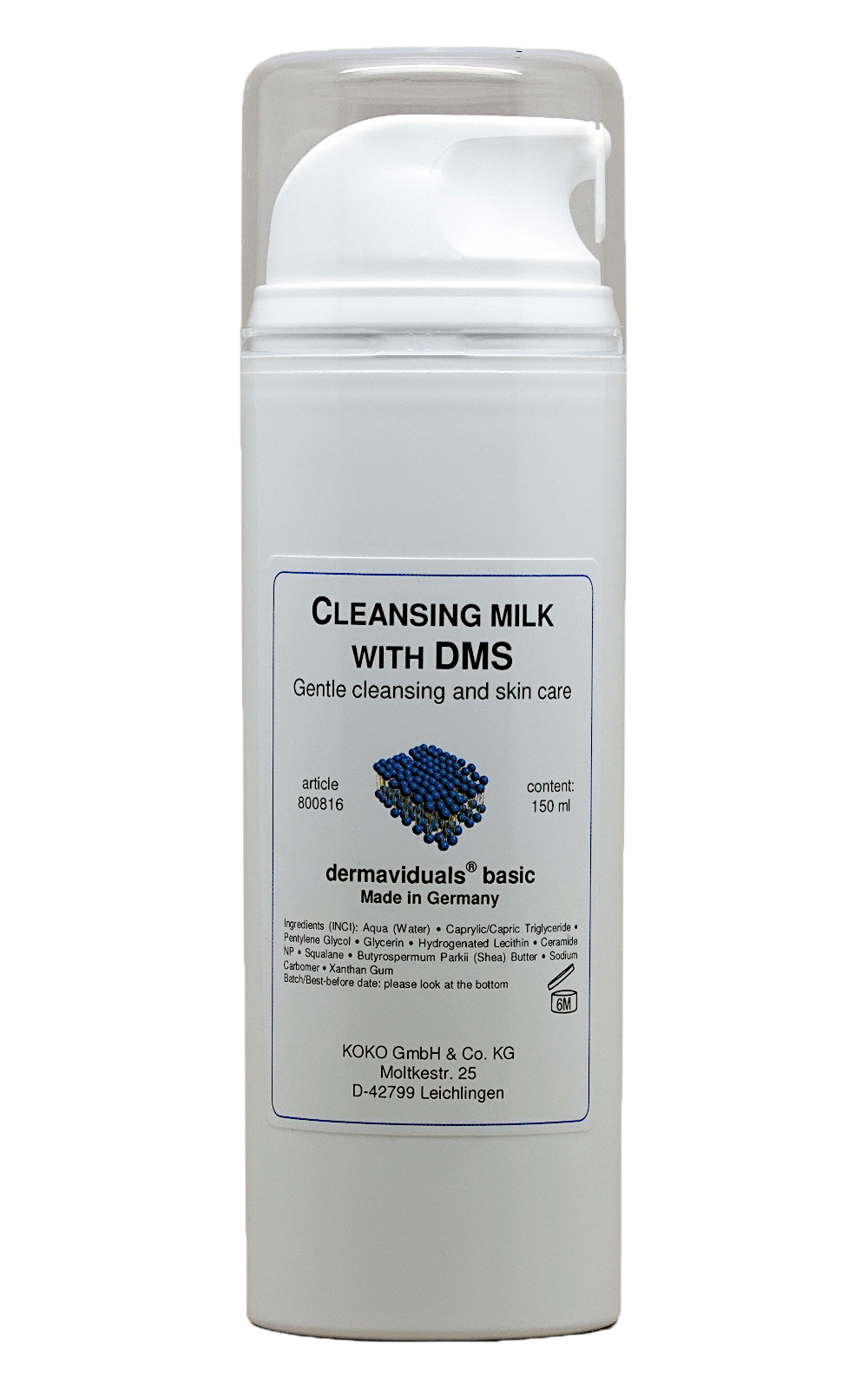 Cleansing Milk with DMS