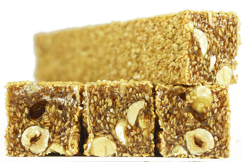 Sesame & Hazelnut Turkish Delight