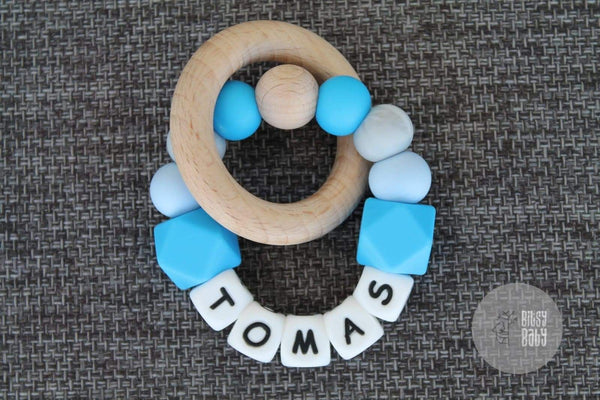 Teething Toy - Personalised Hexa