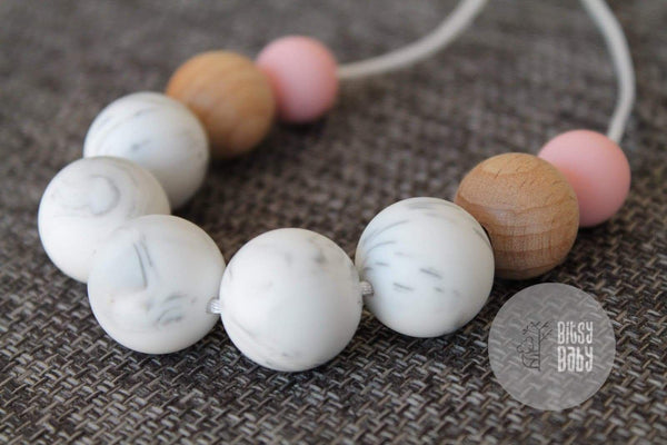 Necklace - Marble