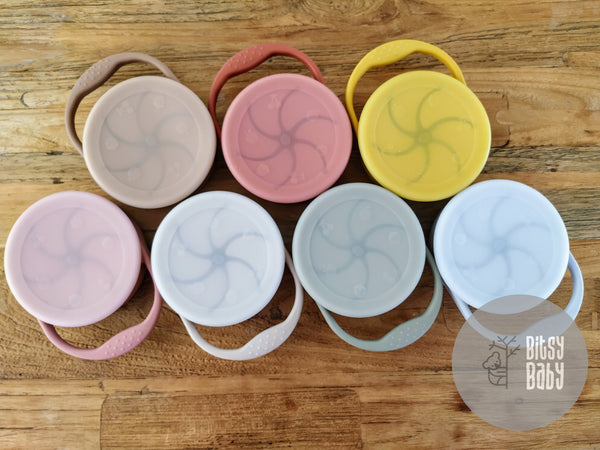 Foldable Silicone Snack Cups