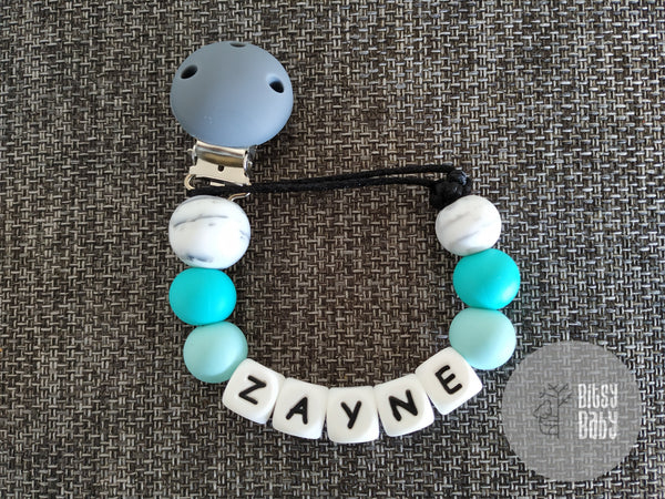 Dummy Chain - Silicone Personalised
