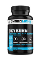 Andromaxx Oxy-Burn Thermogenic Fat Burner With EGCG For Men & Women, 60 Capsules - Andromaxx.com