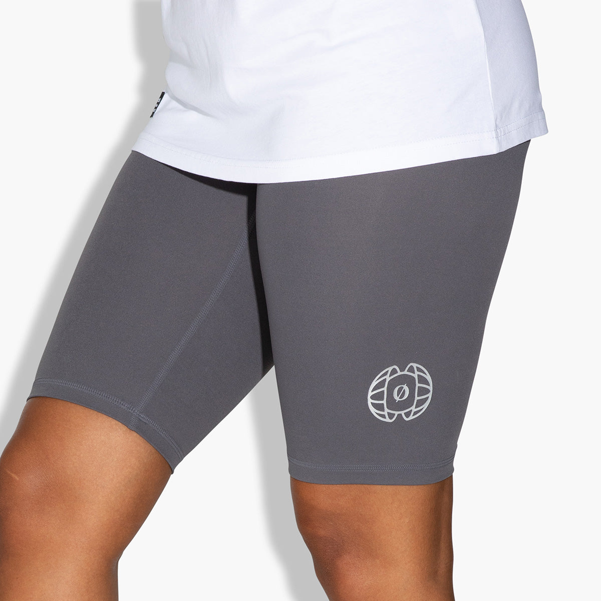 Women's Bike Shorts (Grey)