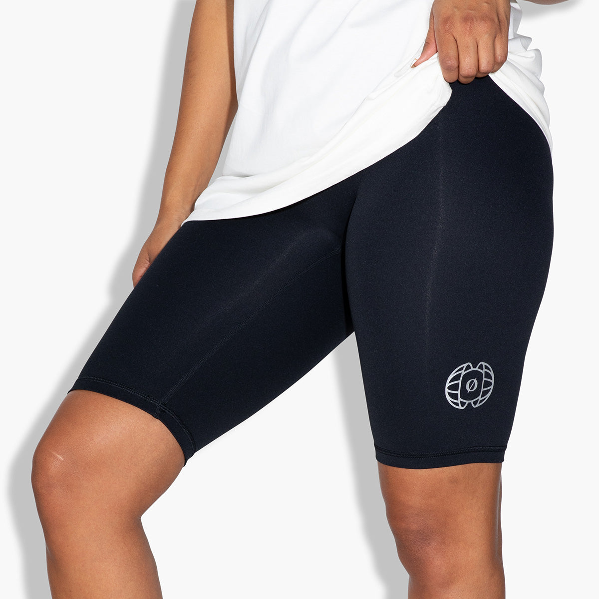 Women's Bike Shorts (Black)