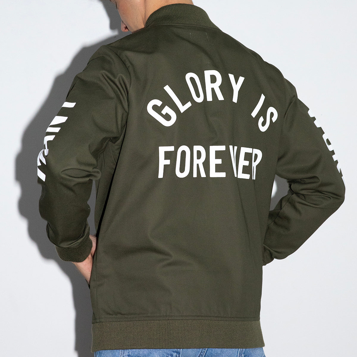 Glory is Forever Bomber Jacket (Olive)