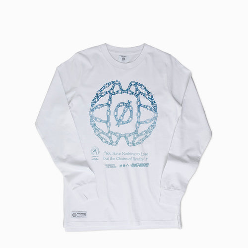 Nothing To Lose Long Sleeve Tee (White)