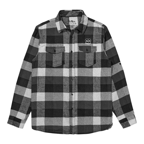 Aloha Fuckers Black Flannel