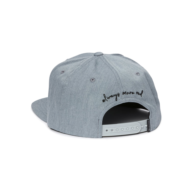 BobRad RadCap - Heather Grey Back