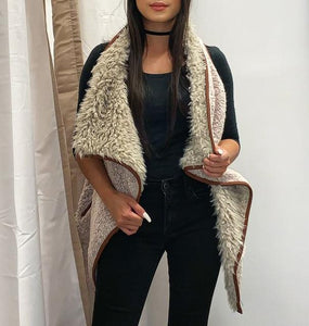 Faux Fur Vest - Accents Dallas