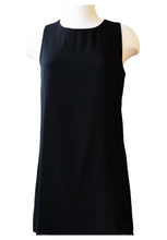 Load image into Gallery viewer, Black Chiffon Tank Dress - Accents Dallas