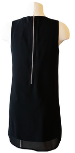 Black Chiffon Tank Dress - Accents Dallas