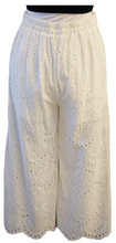Load image into Gallery viewer, White Lace Embroidered Pants - Accents Dallas