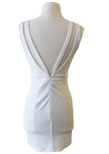 Load image into Gallery viewer, white body con dress