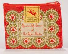 Load image into Gallery viewer, Red Boss Lady Zip Pouch - Accents Dallas