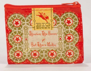 Red Boss Lady Zip Pouch