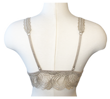 Load image into Gallery viewer, taupe lace bralette